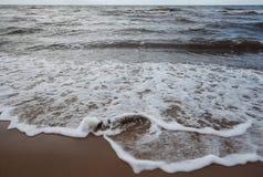 Ryski zatoki wybrzeże fotografia stock