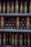 Ryskie Czarne Balsam butelki Obrazy Stock