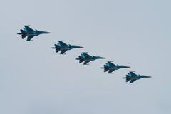 Ryskt flygvapen Fotografering för Bildbyråer