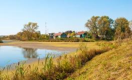 Ryskt landskap för land Royaltyfri Fotografi