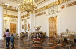 Ryskt museum i St Petersburg Arkivbild