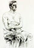 Rysować kobieta ilustracji