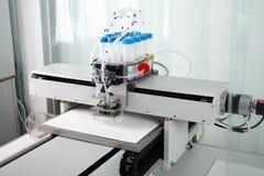 Rysować na syntetycznych papierowych ciecz próbkach dla badawczego antibodie fotografia royalty free