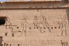 rysować philea tempel blisko Aswan zdjęcie stock