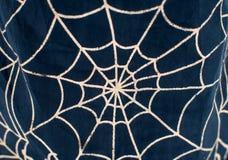 Rysować na tkaniny sieci dla Halloween Obraz Royalty Free