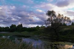 Ryss april arkivfoton