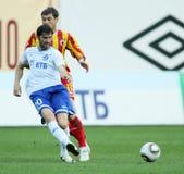 ryss för fotbollligapremiärminister Royaltyfria Bilder
