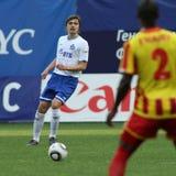 ryss för fotbollligapremiärminister Royaltyfri Fotografi