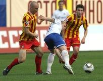 ryss för fotbollligapremiärminister Royaltyfria Foton