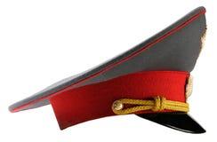 ryss för hatttjänstemanpolis Royaltyfri Foto