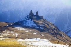ryss för ossetia för berg för alaniacaucasus federation nordlig royaltyfri fotografi