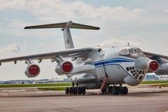 Ryss IL-76 Arkivfoto
