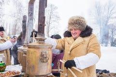 ryss som ser vinter royaltyfria bilder