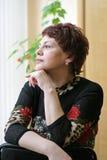 rysskvinna Arkivfoton