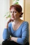 rysskvinna Royaltyfri Fotografi