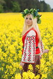 rysskvinna Fotografering för Bildbyråer