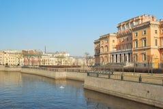 Ryssland Arkitektur av St Petersburg Royaltyfria Bilder