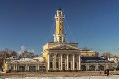 Ryssland Brandtorn i Kostroma Royaltyfria Bilder