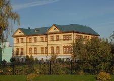 Ryssland Diveevo Kloster av St-serafen av Sarov Arkivbilder