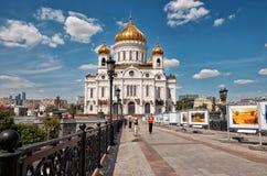 Ryssland domkyrkan christ moscow parts frälsare 20 Juni 2016 Arkivfoto
