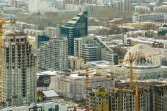 Ryssland Ekaterinburg härlig stadsliggande Arkivbilder