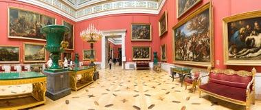 Ryssland. Eremitboningen. Hall av italiensk konst av 17-18 århundraden. Royaltyfria Foton