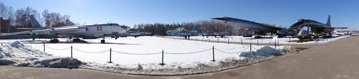 Ryssland Gå runt om Moskva Monino Vinter arkivbild