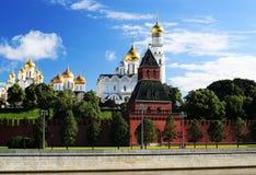 Ryssland härlig sikt av Moskva arkivbilder