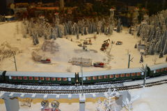 Ryssland i miniatyr Arkivfoton