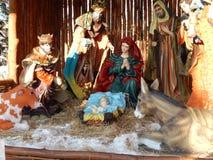 Ryssland Irkutsk, bild av jul i den ortodoxa kyrkan på 14 Februari 2015 Arkivbilder