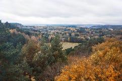 Ryssland Kislovodsk Dal av rosor i Kislovodsk Oktober 11, 2016 Royaltyfria Foton
