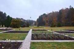 Ryssland Kislovodsk Dalen av rosor i Kislovodsken parkerar Arkivbilder