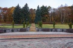 Ryssland Kislovodsk Dalen av rosor i Kislovodsken parkerar Royaltyfria Foton