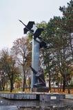 Ryssland Kislovodsk Monumentet i Kislovodsk i minne av de dödade i det stora patriotiska kriget Oktober 12, 201 Royaltyfria Foton