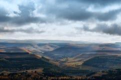 Ryssland Kislovodsk Sikt från den lilla sadeln för berg Royaltyfria Bilder