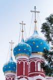 Ryssland kyrka av Tsarevich Dmitry på blodet i Uglich Royaltyfri Bild