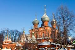 Ryssland kyrka i Kostroma royaltyfri foto