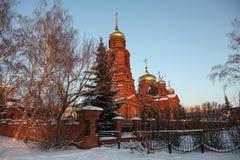 Ryssland Mordovia republik, kyrkan av St Nicholas i Saransk royaltyfri bild
