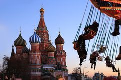 Ryssland Moscow royaltyfri bild