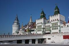 Ryssland Moscow. Kremlin i Izmailovo. Arkivfoto