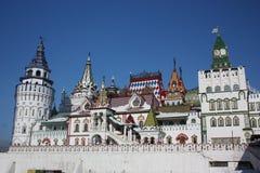 Ryssland Moscow. Kremlin i Izmailovo. Fotografering för Bildbyråer