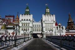 Ryssland Moscow. Kremlin i Izmailovo. Royaltyfri Foto