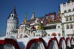 Ryssland Moscow. Kremlin i Izmailovo. Royaltyfri Fotografi