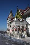 Ryssland Moscow. Kremlin i Izmailovo. Royaltyfri Bild