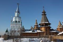 Ryssland Moscow. Kremlin i Izmailovo. Royaltyfria Bilder