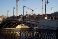 03/26/2016 Ryssland, Moskva En serie av Royaltyfria Bilder