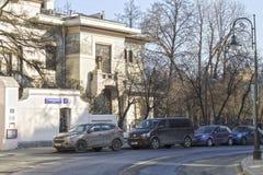 Ryssland Moskva: Husmuseum av Maxim Gorky Arkivbild