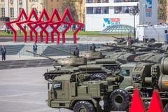 Ryssland Moskva - Maj 9, 2015 Victory Day Fotografering för Bildbyråer