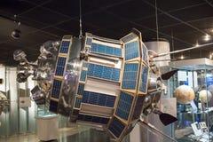 Ryssland Moskva, museum av Cosmonautics: Expositio för utrymmemuseum royaltyfria foton
