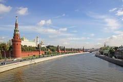 Ryssland MoskvaKreml i sommar Arkivfoton